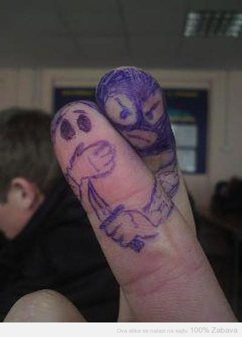 Ako samo mrdneš prstom...