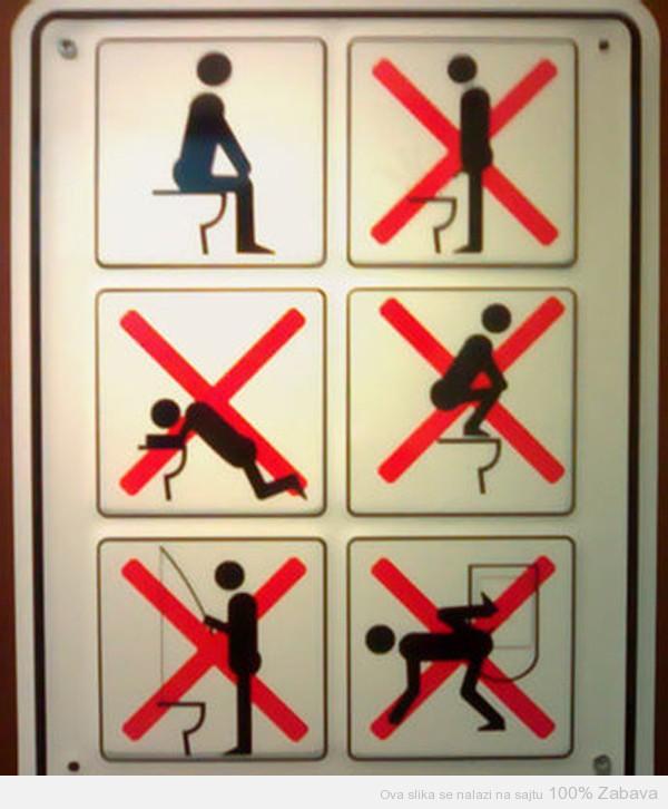 Detaljno uputstvo za korišćenje WC šolje