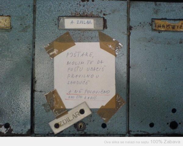 Dragi poštaru