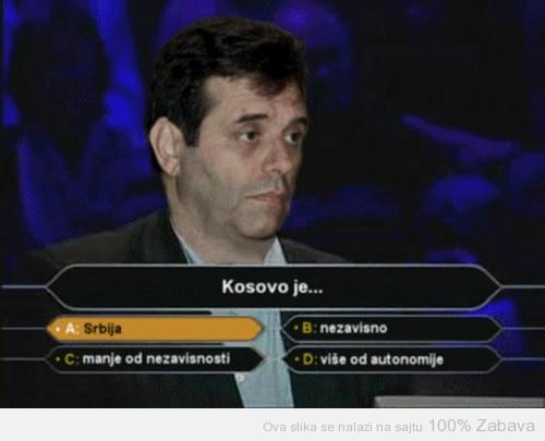 Koštunica i Kosovo