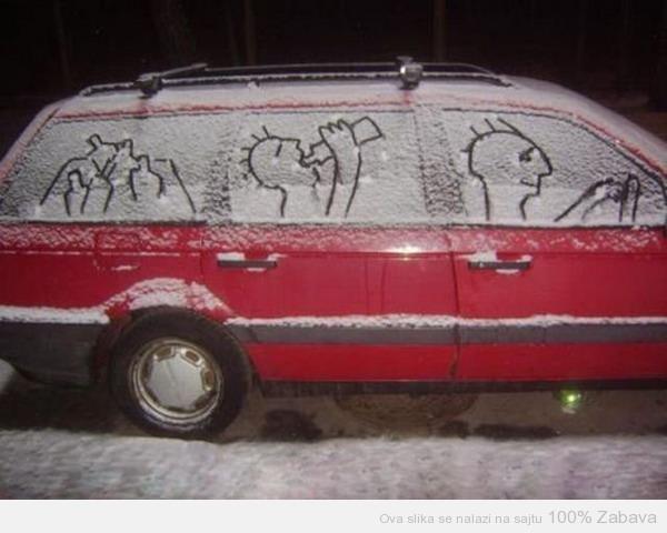 Nemoj da piješ dok voziš!
