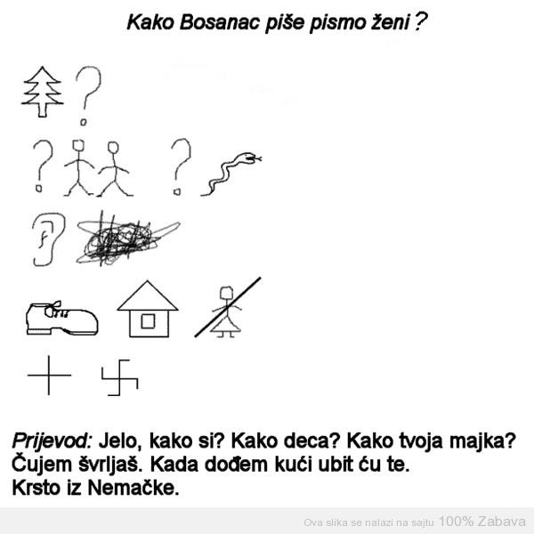 Pismo Bosanca
