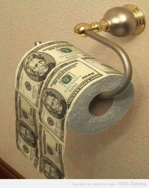 Toalet papir za srećnike