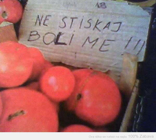 Voće i povrće oseca