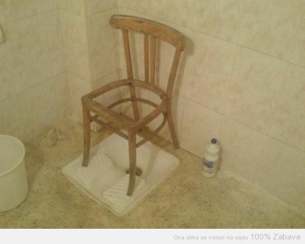 WC stolica