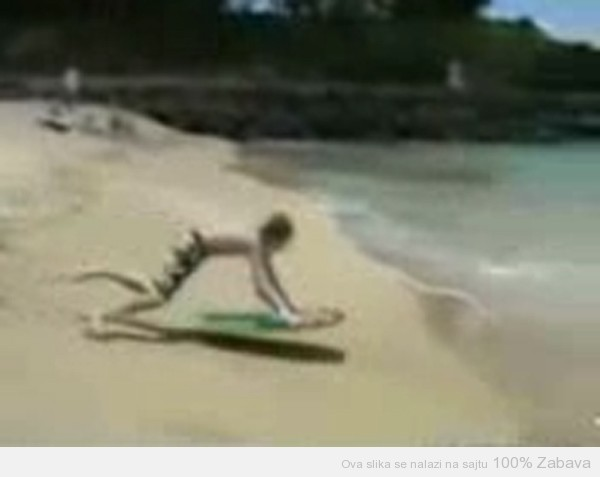 Mali surfer
